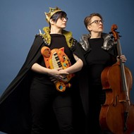 The Doubleclicks log in to Cloak & Blaster for a night of nerdy folk