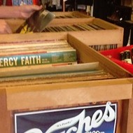 Vinyl For Charity sale happening at Owl's Attic this weekend