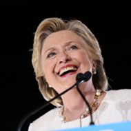 Clinton slams Trump on rhetoric, tax returns in Sanford