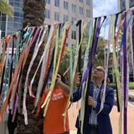 Pulse remembrance ribbons installed at Orlando City Hall