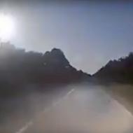 A massive fireball shot across the Florida sky Monday night