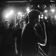Miami MC Sylvan Lacue plays Backbooth tonight