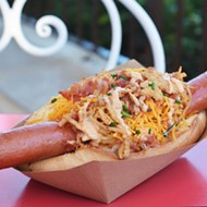 Disney World now offering some sort of breakfast hot dog