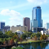 This might be the last unregulated drone video of downtown Orlando