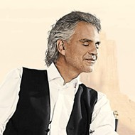 Opera crossover star Andrea Bocelli gives you a good reason to take your mom out for Valentine's Day