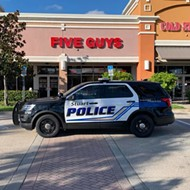 Five Florida guys flung fists at a Florida Five Guys