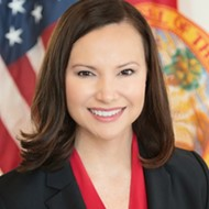 Florida's attorney general sends her condolences, while also trying to squash a vote banning assault weapons
