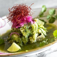 Chef Roberto Treviño fashions striking ceviches at Don Julio Mexican Kitchen in Orlando