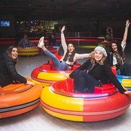 A nighttime ice rink with bumper cars is coming to Orlando