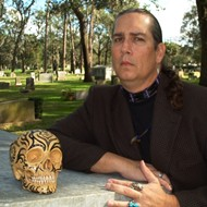 Owl Goingback, Central Florida's most frightful writer, thinks real life is scarier than werewolves or vampires