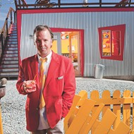 Cult comic Doug Stanhope regales the audience at the Orlando Improv this week