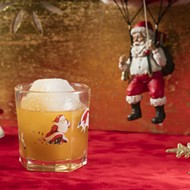 Sippin' Santa pop-up bar at Avanti Palms adds a little tiki to Christmastime