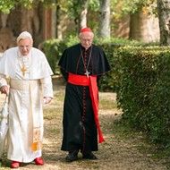 'The Two Popes,' at Enzian and on Netflix Dec. 20, brings Benedict and Francis into semi-fictional focus