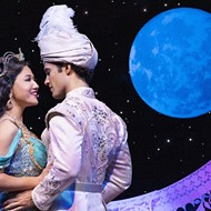 There's something extra special between the romantic leads of 'Aladdin,' currently at the Dr. Phillips Center