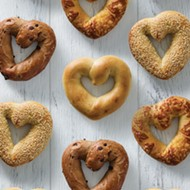 Einstein Bros. is spreading love with heart-shaped bagels for Valentine's Day