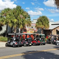 Golf cart protests intensify in the Villages, as one anti-Trump Florida man receives threat