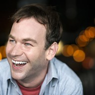 Comedian Mike Birbiglia spends most of the weekend at the Orlando Improv