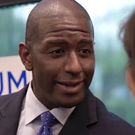 Former Florida gubernatorial candidate Andrew Gillum at scene of alleged crystal-meth overdose