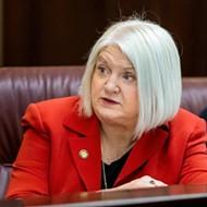 Florida Sen. Linda Stewart will dole out paper unemployment benefits applications