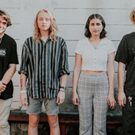 Local dream-pop group Tidepools to go (Instagram) Live for the Social's Sunday Music Mass this weekend