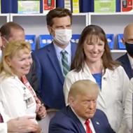 Florida Rep. Matt Gaetz, Gov. Ron DeSantis join Trump for signing of drug-import order