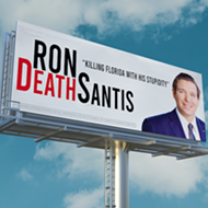 Florida lawyer fundraising to put a Ron 'DeathSantis' billboard outside of the governor's mansion