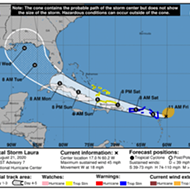 Tropical Storm Laura still headed towards Florida, expected to become a major hurricane within days