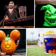 Disney goes all out for Halloween this year with three dozen novelty food and beverage items