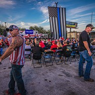 Don Trump Jr.'s Tampa rally attracted Proud Boys, bikers and MAGA faithful