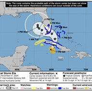DeSantis declares state of emergency in eight Florida counties as Tropical Storm Eta nears