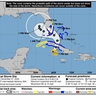 DeSantis declares state of emergency in eight Florida counties as Tropical Storm Eta nears