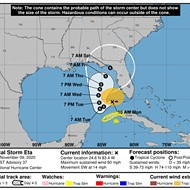 Eta could bring tropical storm conditions to Orlando as early as Wednesday