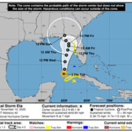Florida waits as Tropical Storm Eta 'meanders' in Gulf of Mexico
