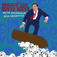 As COVID surges in Florida, Gov. Ron DeSantis makes no public comment, declares no mask mandate, offers no guidance