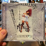 Two record stores in Orlando have autographed Megan Thee Stallion CDs for sale