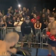 Underground New York fight club holds 'Rumble in Orlando' event in front of packed crowd