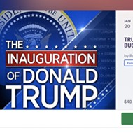 Today in scams, this absolutely brazen cash grab for a bus trip to Trump's 2021 inauguration