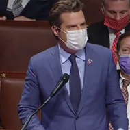 Florida Rep. Matt Gaetz goes all-in on false conspiracies blaming antifa for Capitol attack on House floor