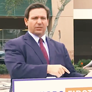 DeSantis is bummed the Senate flipped because Florida will get aid money that he 'would have voted against'