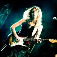 International blues star Ana Popović comes to Winter Park's New Standard on Wednesday to shred the patriarchy