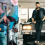 Country stars Jamey Johnson and Randy Houser hit Orlando's Frontyard Festival stage on Thursday