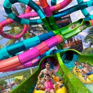 SeaWorld to open 68-foot tall dueling waterslides in April