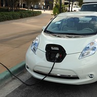 Mayor Buddy Dyer and OUC unveil 100 electric vehicle charging stations throughout Orlando