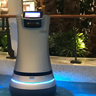 Universal is testing a room service droid at Cabana Bay Beach Resort