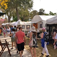 Winter Park Sidewalk Art Festival is happening this weekend