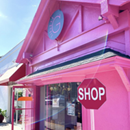 Winter Park's new bright pink gift shop Gasp is bound to draw eyes, customers