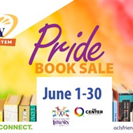 Pride book sale coming to Orlando Public Library next month