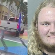 Donald Trump supporter defaces Pride Month intersection in Florida to celebrate former president's birthday