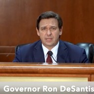 Florida Gov. Ron DeSantis held a roundtable COVID discussion with no public notice and no media allowed