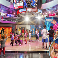 The NBA Experience at Disney Springs will not reopen